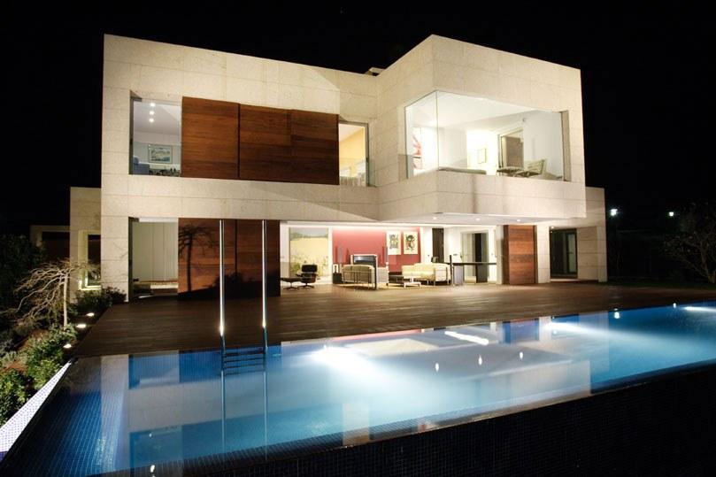 Plantas de casas de dois andares - Casas contemporaneas modernas ...