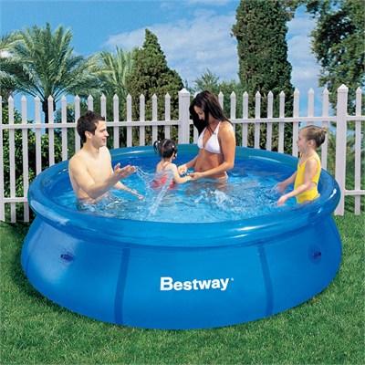 364908 Piscina Bestway Fast Set 2.300L %E2%80%93 Azul Piscina inflável: preços, onde comprar