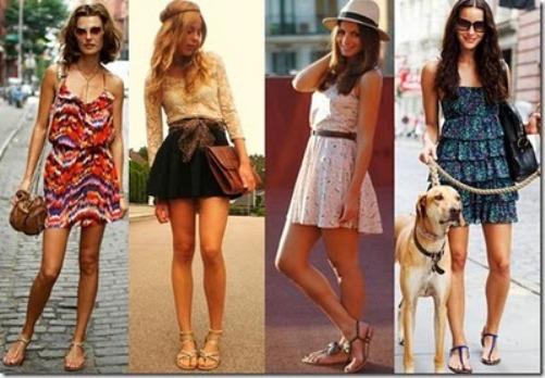 365043 Como combinar vestido e rasteirinha 1 Como combinar vestido e rasteirinha