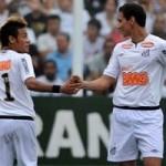 366171 neymar e ganso2 150x150 Em temporada dourada, Santos colecionou títulos