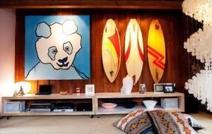 Sugestões modernas para decorar casa de praia
