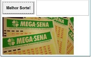 Programa que gera números para a Mega Sena