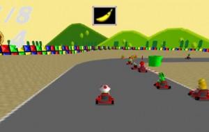 Divirta-se com este remake de Super Mario Kart