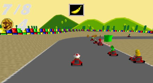 367367 Super Mario Kart Remakeim1 Divirta se com este remake de Super Mario Kart
