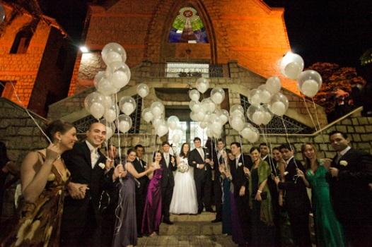 367826 Ideias divertidas para a saída dos noivos da igreja 2 Ideias divertidas para a saída dos noivos da igreja