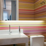 367954 lavabos com papel de parede 3 150x150 Lavabos com papel de parede