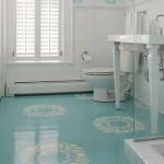 367954 lavabos com papel de parede 7 150x150 Lavabos com papel de parede