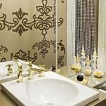 367954 lavabos com papel de parede 9 150x150 Lavabos com papel de parede