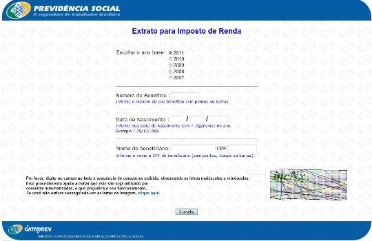37106 Extrato Previdência Social INSS 4 Extrato Previdência Social INSS