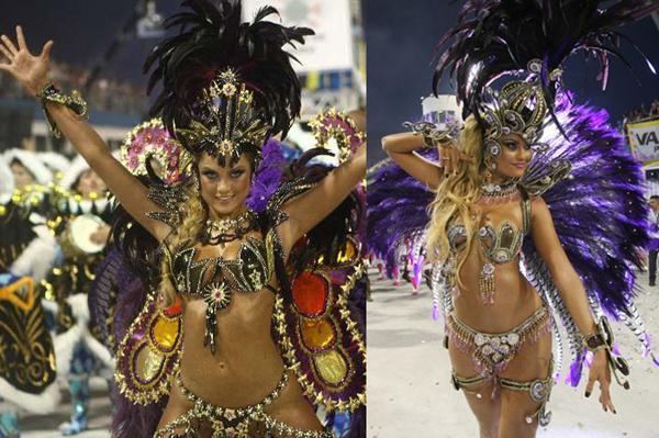 371069 ellen roche Carnaval 2012: Rainhas de bateria São Paulo