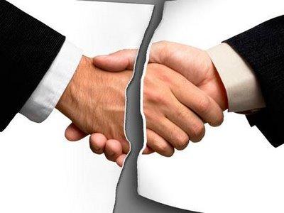 371394 acordo quebrado Motivos para demissão por justa causa