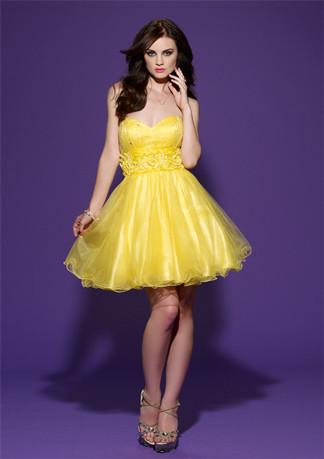 371513 vestidos curtos para debutantes estilo princesa 04 Vestido para debutantes 2012   sugestões