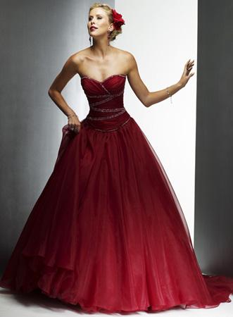 371513 vestidos de debutantes longos vermelho Vestido para debutantes 2012   sugestões