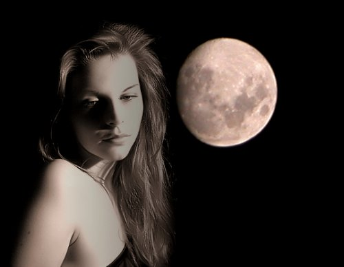 372282 Mulher Lua1 Fases da Lua 2012   veja o Calendário Lunar completo