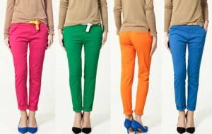 Calça Colorida: Dicas Looks