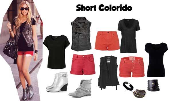 372757 colorido look Short no Verão: Dicas e Looks
