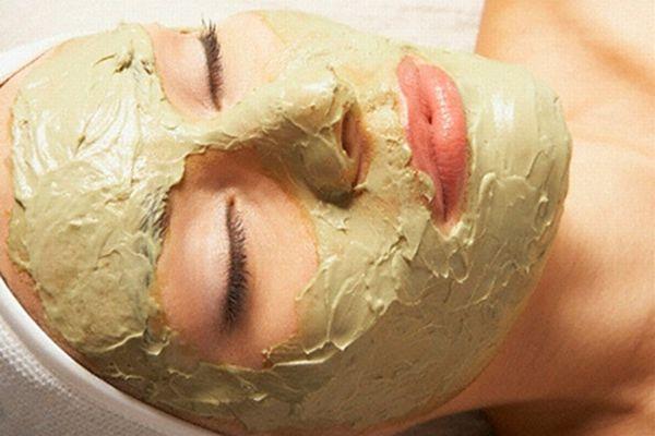374218 Máscara de argila verde para a pele Máscara de argila verde para a pele