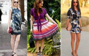 Vestidos e estampas para o verão