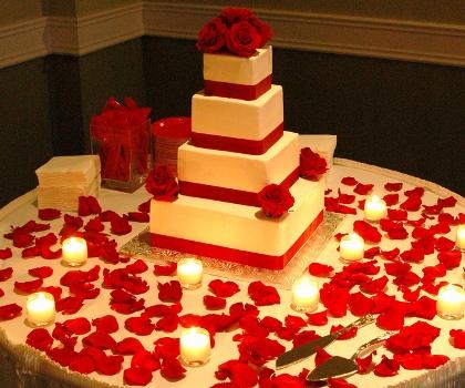 374345 Decoração vermelha de casamento – fotos 2 Decoração vermelha de casamento   fotos