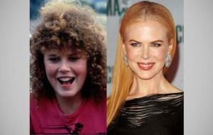 celebridades ontem e hoje