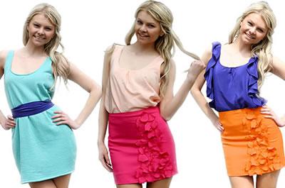 375036 moda color block Moda adolescente 2012 fotos, tendências