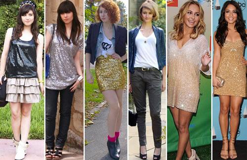 375036 roupas com paetês Moda adolescente 2012 fotos, tendências