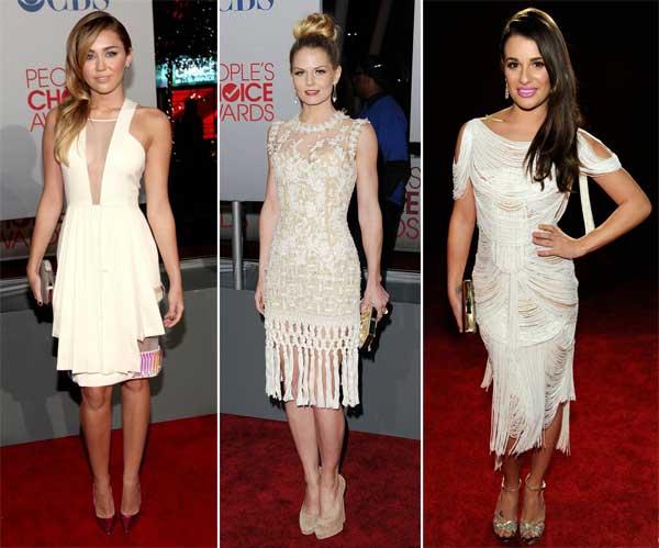 376250 mileycyrus jennifermorrison leamichele CLARO People's Choice Awards 2012: Looks das Celebridades