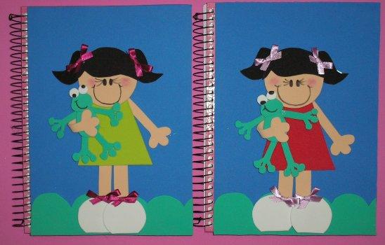 377827 Dicas para decorar capa de caderno 1 Decorar capa de caderno   dicas, sugestões, fotos