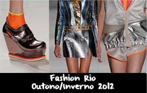 Fashion Rio Outono/Inverno 2012: Detalhes dia 12/01