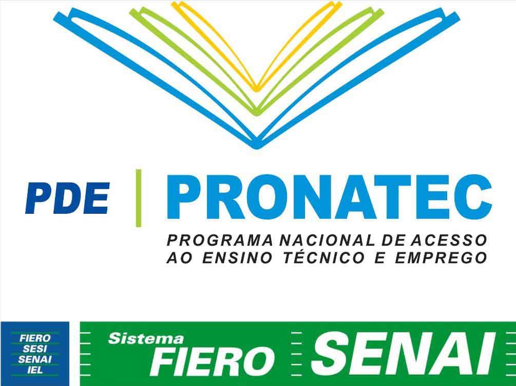 378425 LOGO PRONATEC FIERO SENAI Senai Pronatec 2012: inscrições