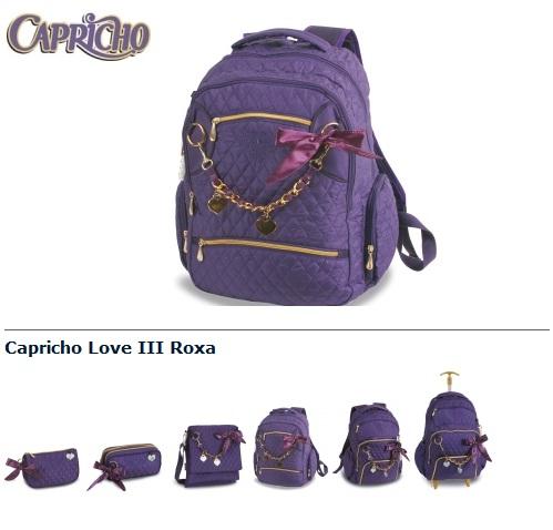 378477 capricho love Mochilas Capricho 2012: modelos, onde comprar