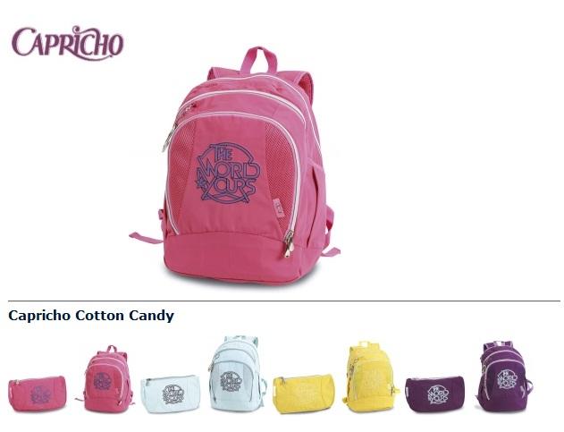 378477 conton candy Mochilas Capricho 2012: modelos, onde comprar
