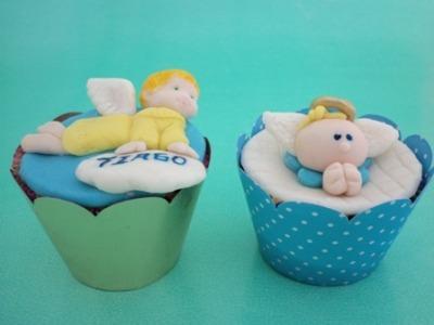 379147 Cupcakes lembrancinhas de maternidade 7 Cupcakes: lembrancinhas de maternidade