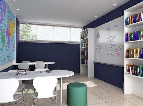 379346 Decoração para sala de estudos dicas fotos 2 Decoração para sala de estudos   dicas, fotos