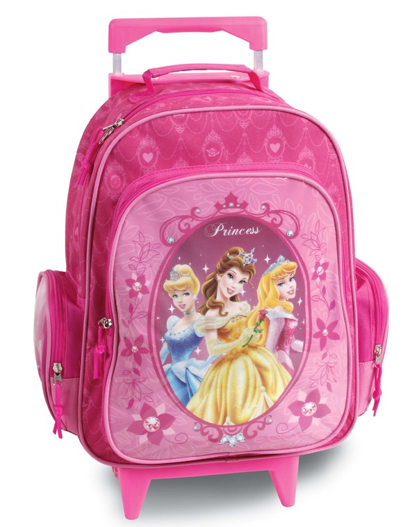 379560 mochilete disney princesas rosa 31948.jpg 1 Mochilas infantis 2012 masculina e feminina