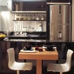 380147 Sala conjugada com cozinha 150x150 Cozinha conjugada à sala   decoração, dicas, fotos