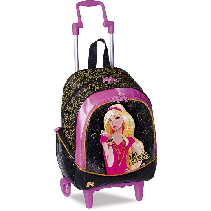 380645 Sestini Mochilete M Barbie 12 Z Sestini Escolar Infantil 2436
