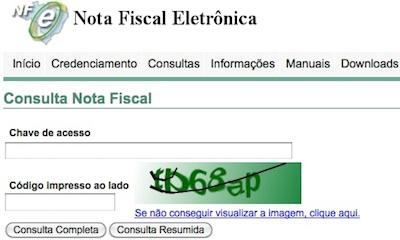 38242 Consulta Nota Fiscal NF SEFAZ CE: Programa Sua Nota Vale Dinheiro, Cadastro, Consulta