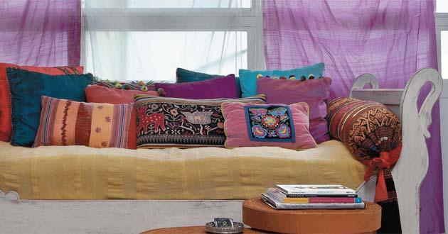382531 decoração almofadas 1 Decoração com almofadas: fotos, como fazer