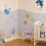 382716 Papel de parede para bebê modelos onde comprar 150x150 Papel de parede para bebê: modelos onde comprar