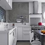 383888 Cozinha branca aconchegante como decorar fotos 10 150x150 Cozinha branca aconchegante: como decorar, fotos