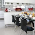383888 Cozinha branca aconchegante como decorar fotos 11 150x150 Cozinha branca aconchegante: como decorar, fotos