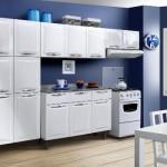 383888 Cozinha branca aconchegante como decorar fotos 3 150x150 Cozinha branca aconchegante: como decorar, fotos