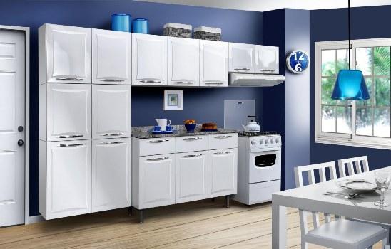 uma cozinha simples:Uma mobília simples e básica para uma cozinha