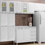 383888 Cozinha branca aconchegante como decorar fotos 4 150x150 Cozinha branca aconchegante: como decorar, fotos