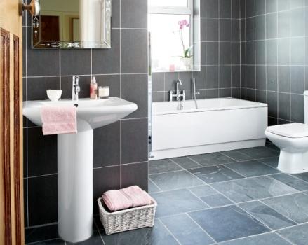 384657 Revestimento para banheiro 8 Revestimentos para banheiro: fotos