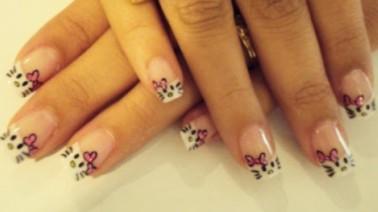 384964 Unhas Decoradas Hello Kitty Unhas decoradas, verão 2012: ideias