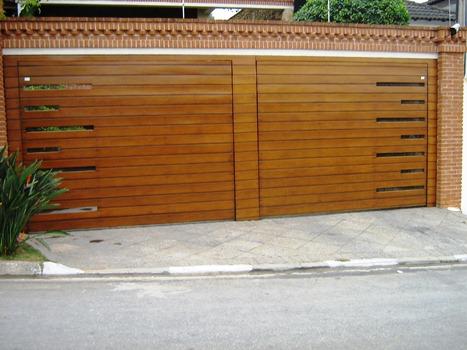 385318 p9 Portões para garagem: fotos, preços, onde comprar