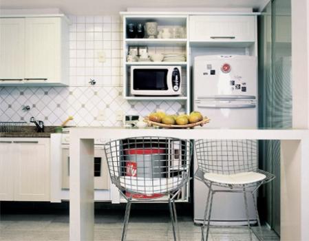 386472 Revestimento para cozinha fotos 1 Revestimento para cozinha: fotos, como escolher