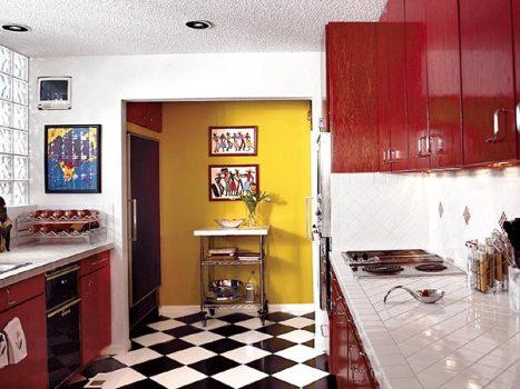 386472 Revestimento para cozinha fotos 7 Revestimento para cozinha: fotos, como escolher